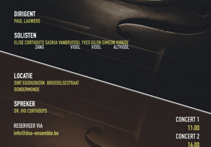 DSO ensemble dubbelconcert- 28 januari 2018